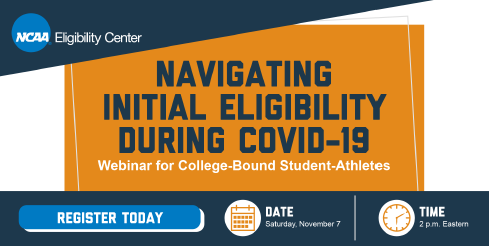 Webinar for College-Bound Student-Athletes