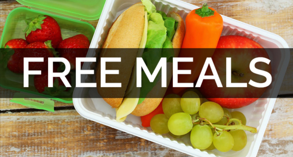 Pick Up Locations for Free Meals