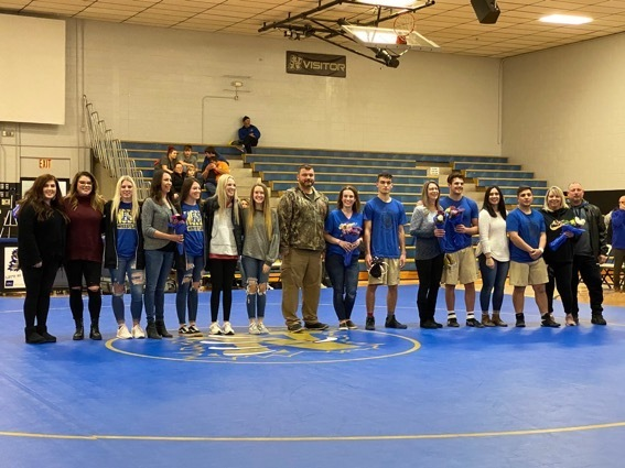 Wrestling Sr Night 2019-20