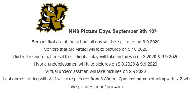 NHS Picture Days